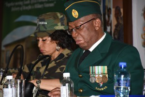 Deputy Minister K Maphatsoe with Minister of Human Settlements, Ms L Sisulu