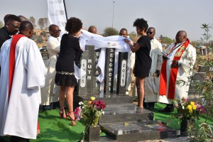 Dr Ruth Mompati's Tombstone unveiling
