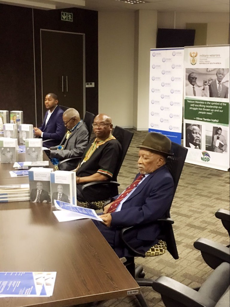 Military Veterans' books launched